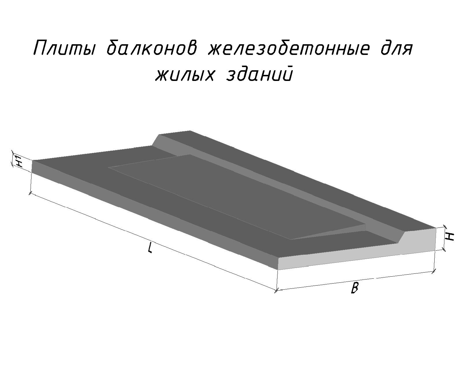 Купить плита балконная пл1а - киев - строим дом.